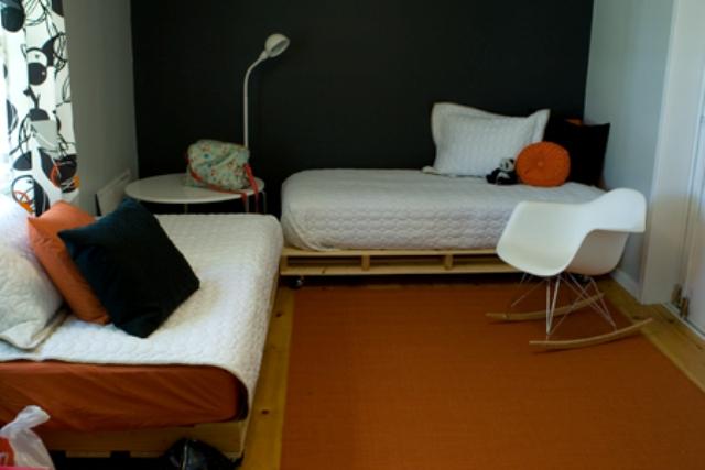 Łóżka jak z palet