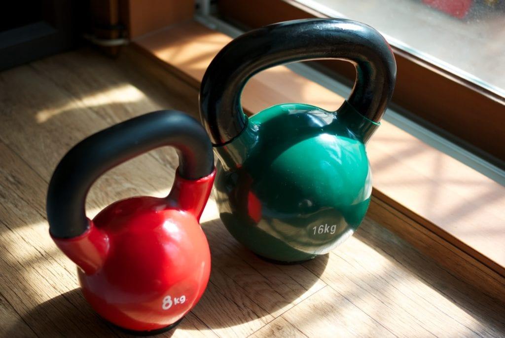 kettle do siłowni w domu
