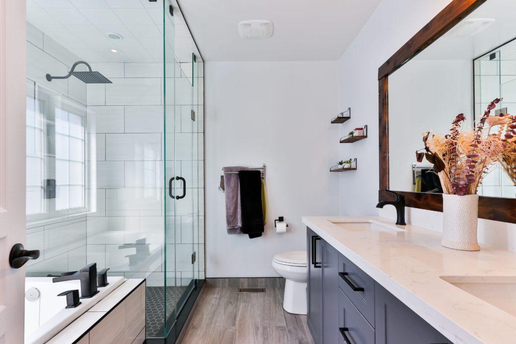 wolnostojąca kabina prysznicowa
