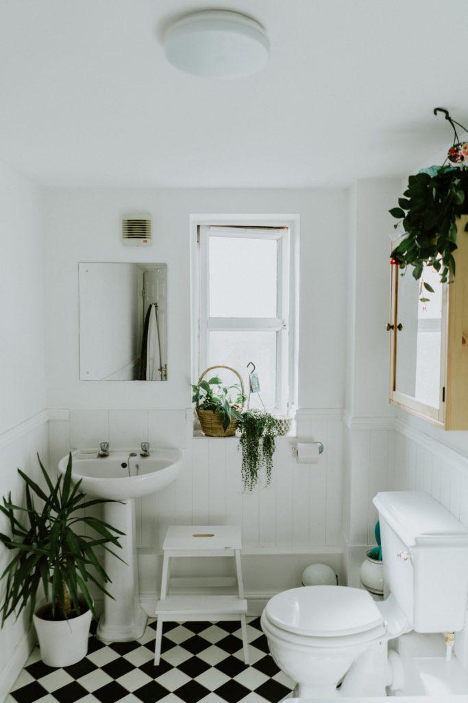 mała łazienka - aranżacja