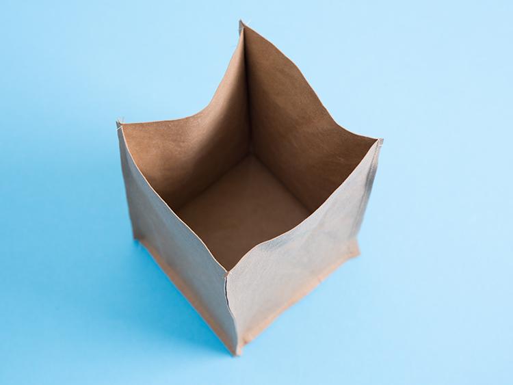 Osłonka na doniczkę DIY - zrób to sam - papier kreatywny
