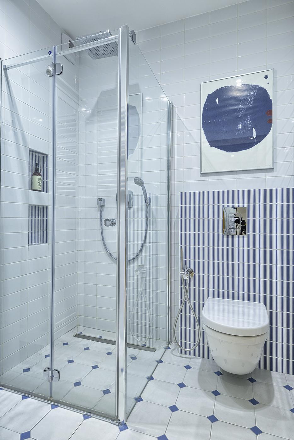 łazienka w stylu marine