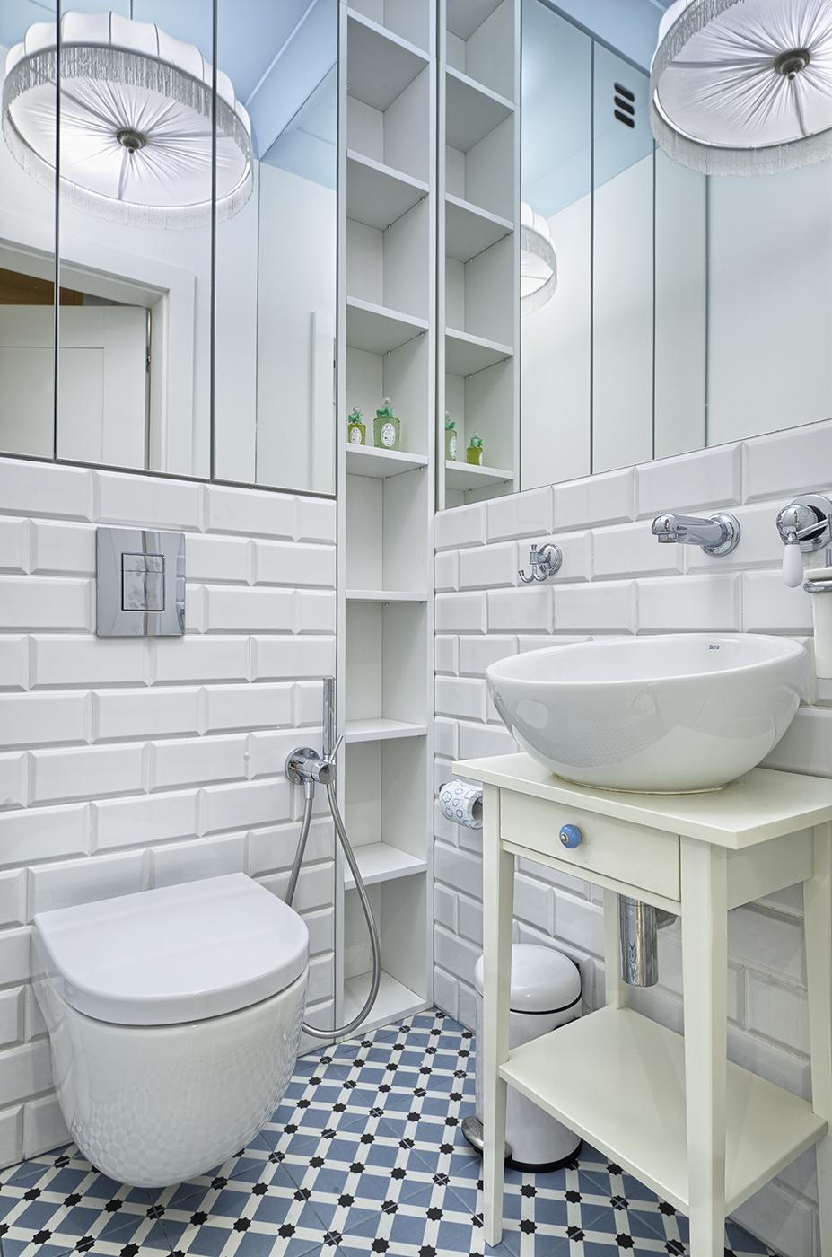 łazienka w nowoczesnym