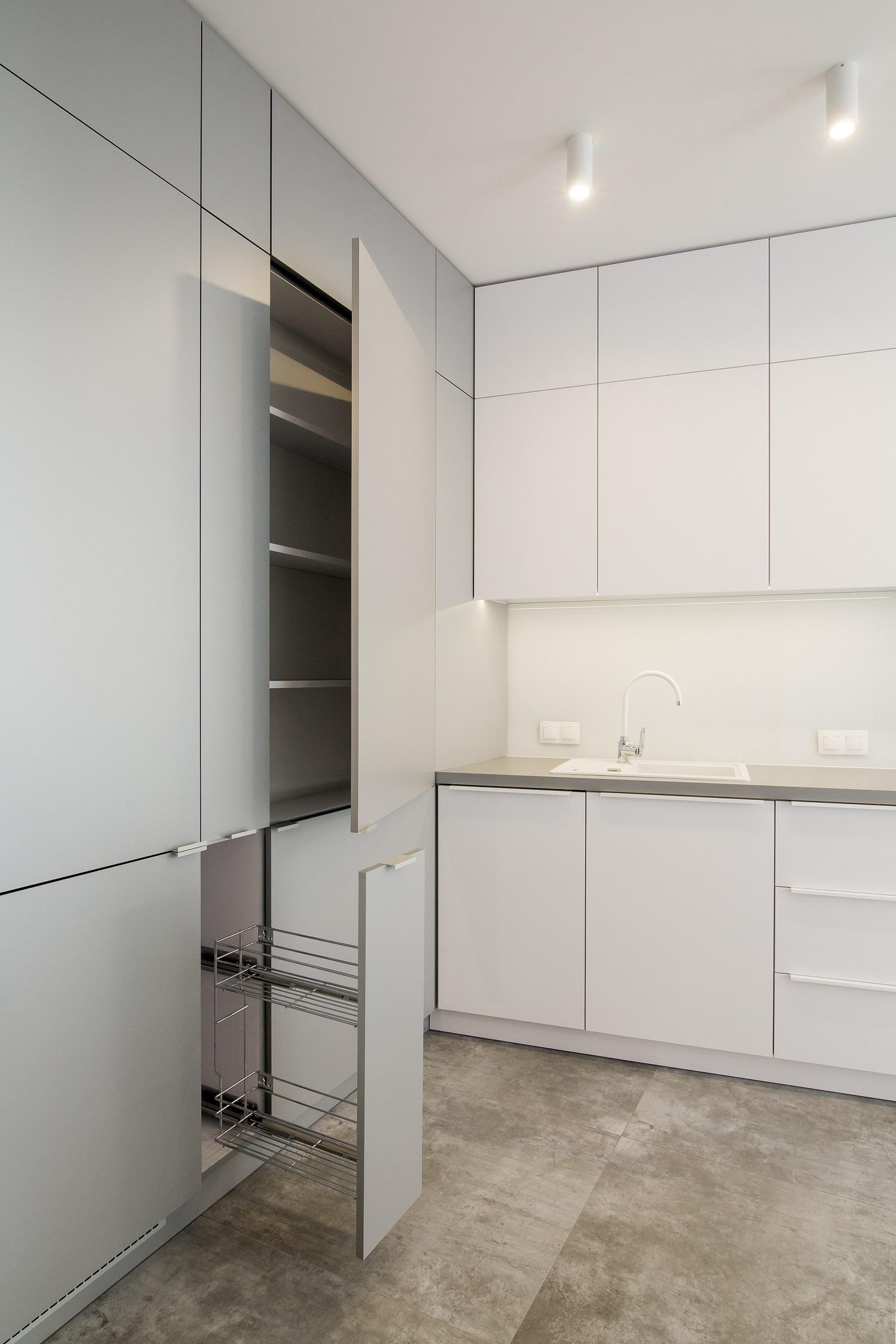 system przechowywania w kuchni
