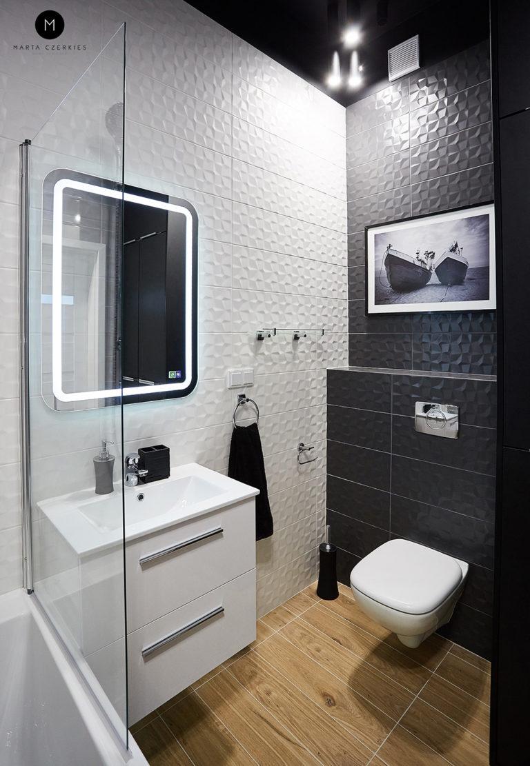panele dekoracyjne w łazience