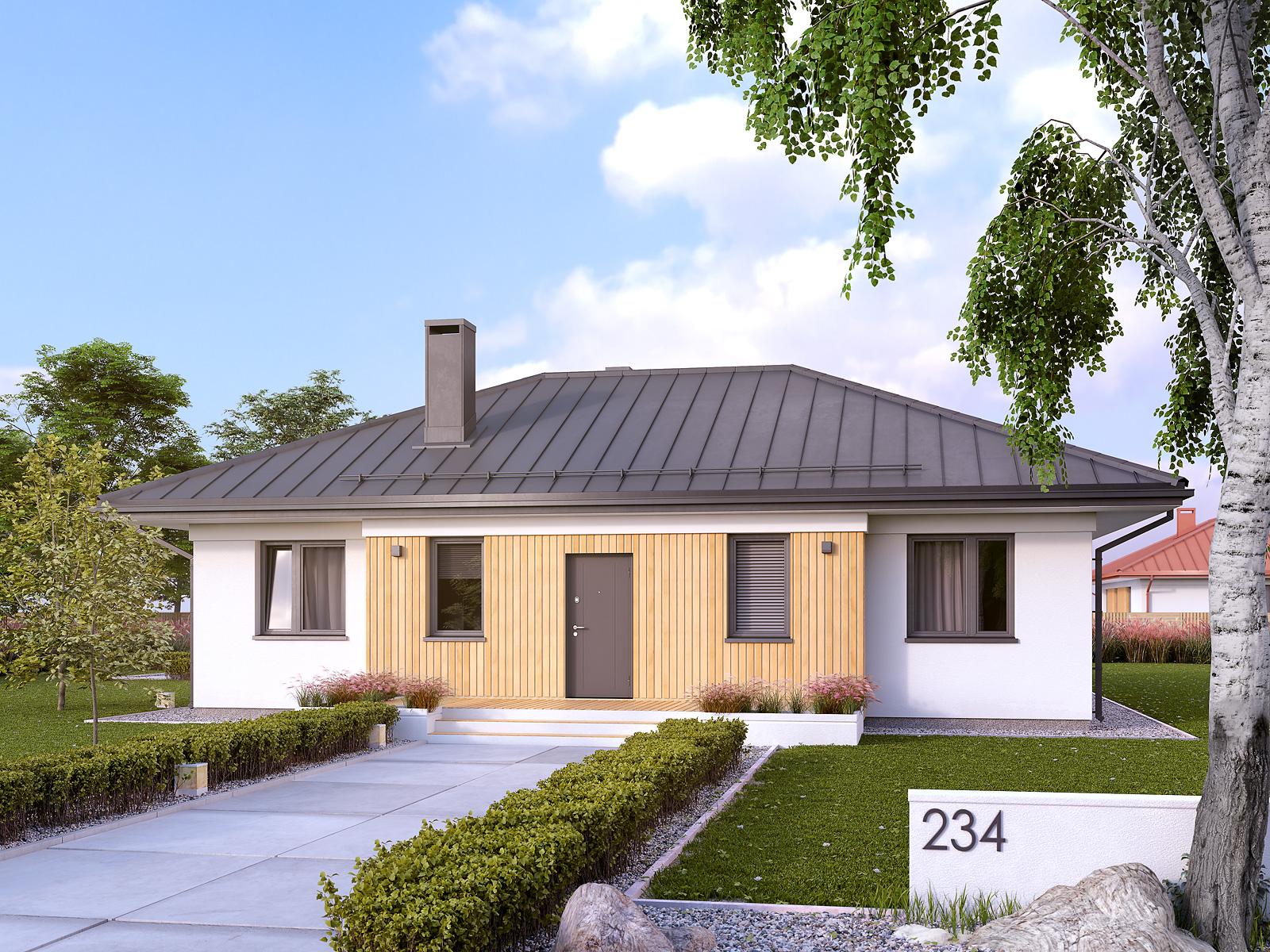 dom jednopiętrowy
