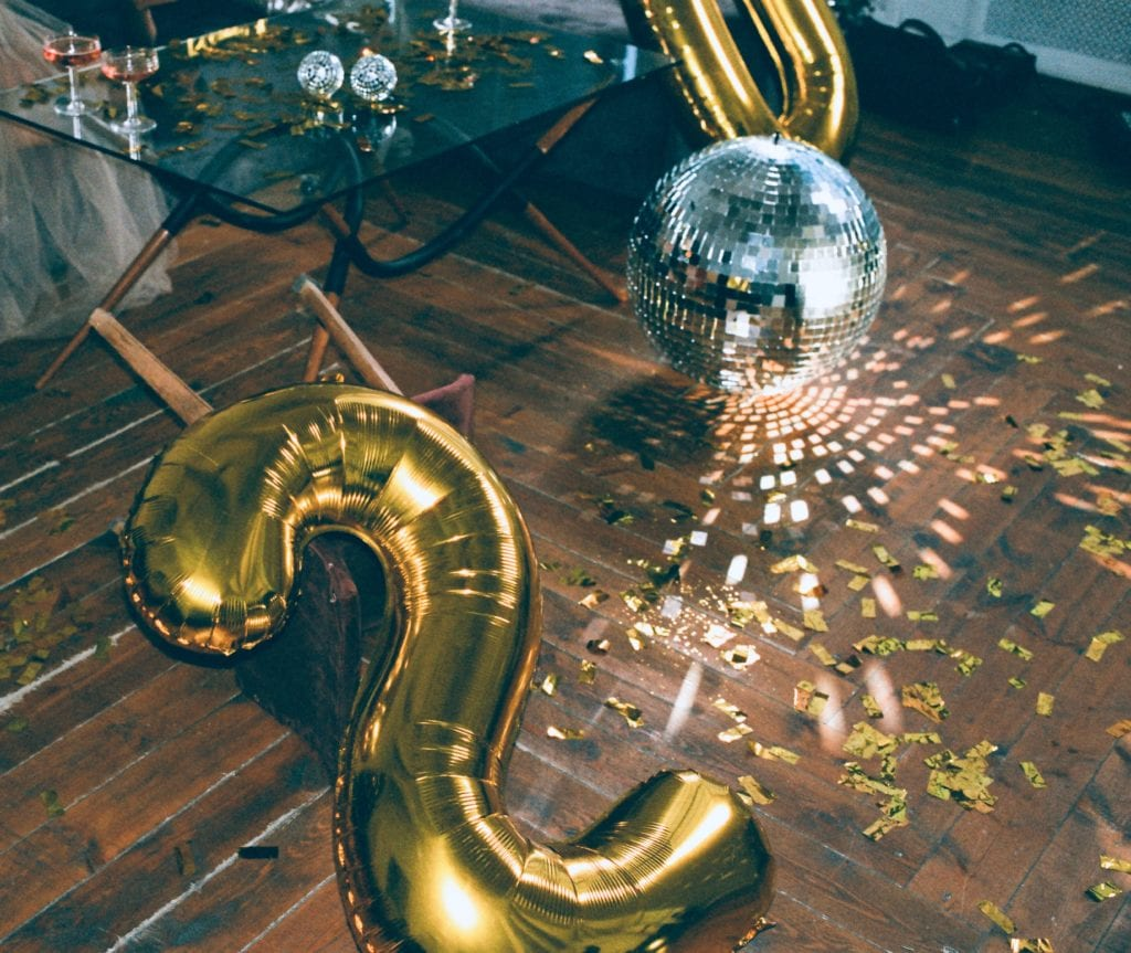 balony na imprezę sylwestrową