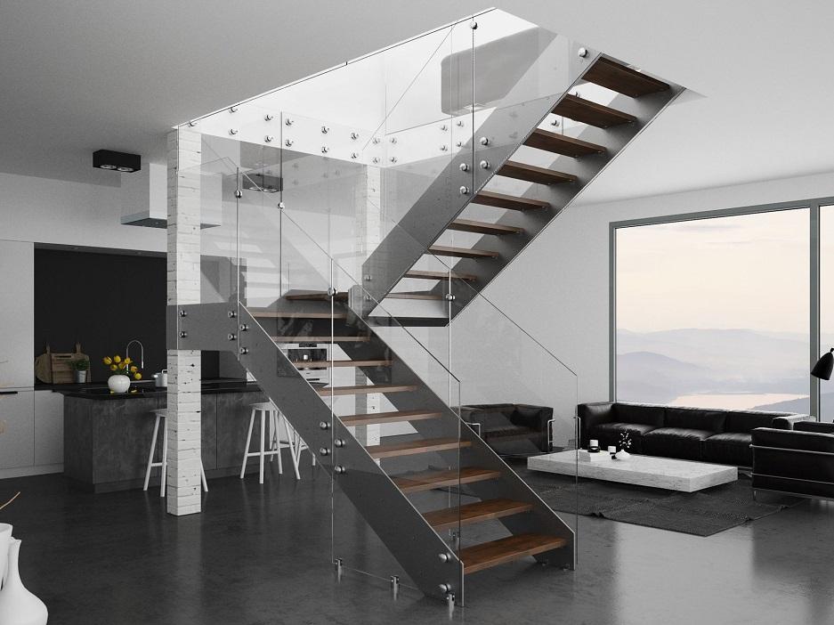 szklane schody
