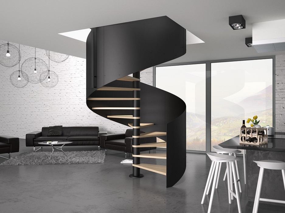 schody w industrialnym stylu