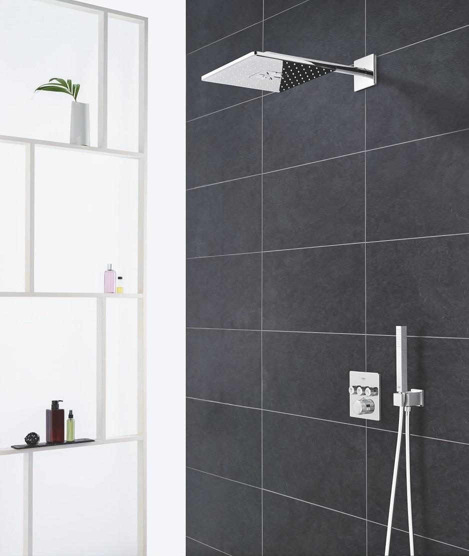 nowoczesny system prysznicowy