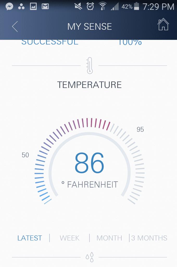 interfejs aplikacji grohe