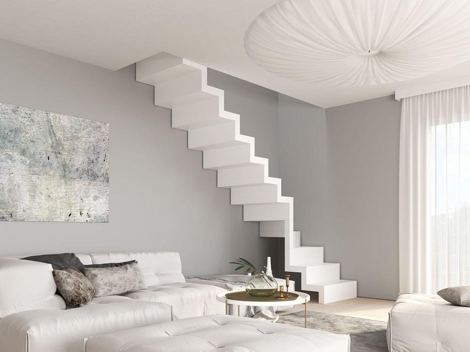 schody z podstopnicami