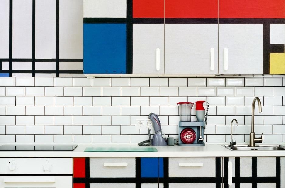 styl mid-century class w kuchni