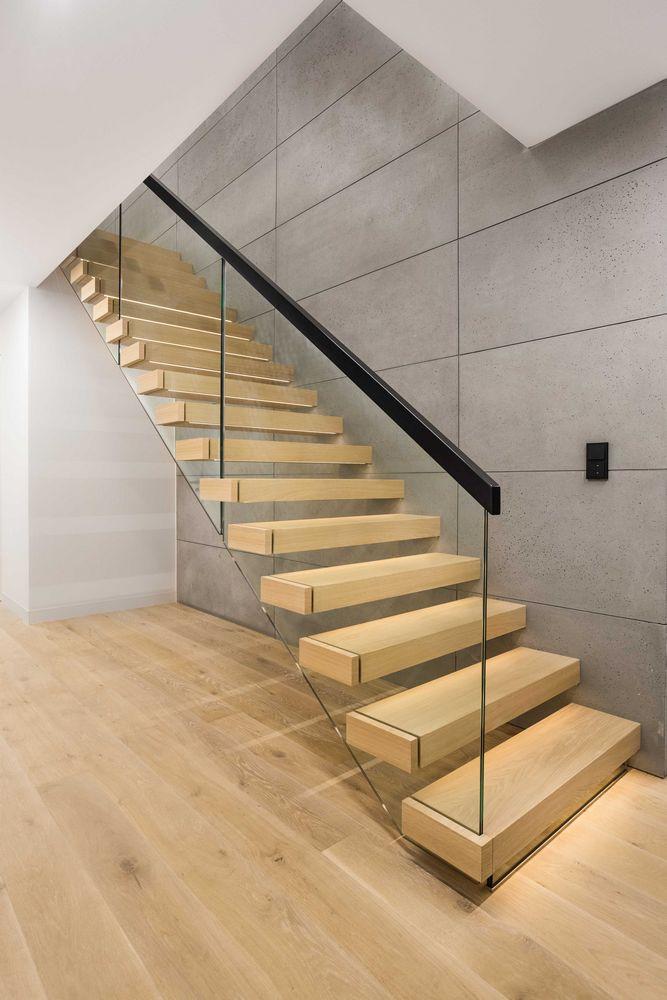 Nowoczesne schody wspornikowe