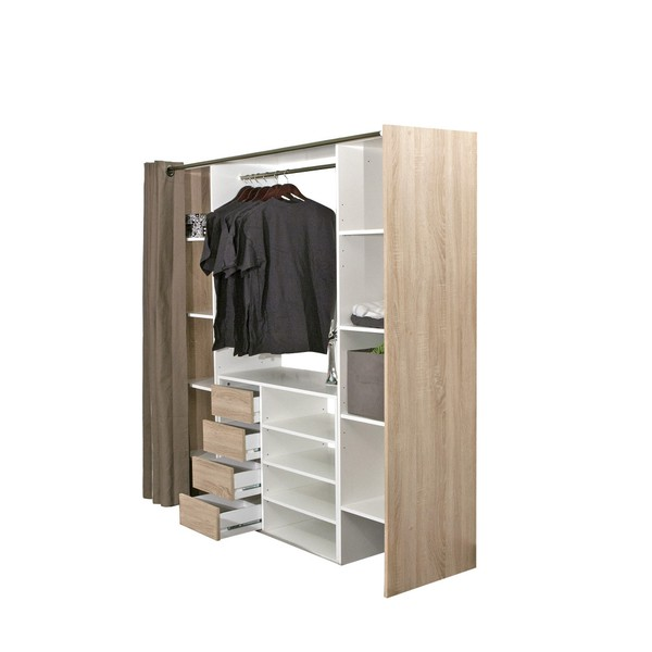 garderoba w sypialni - szafa