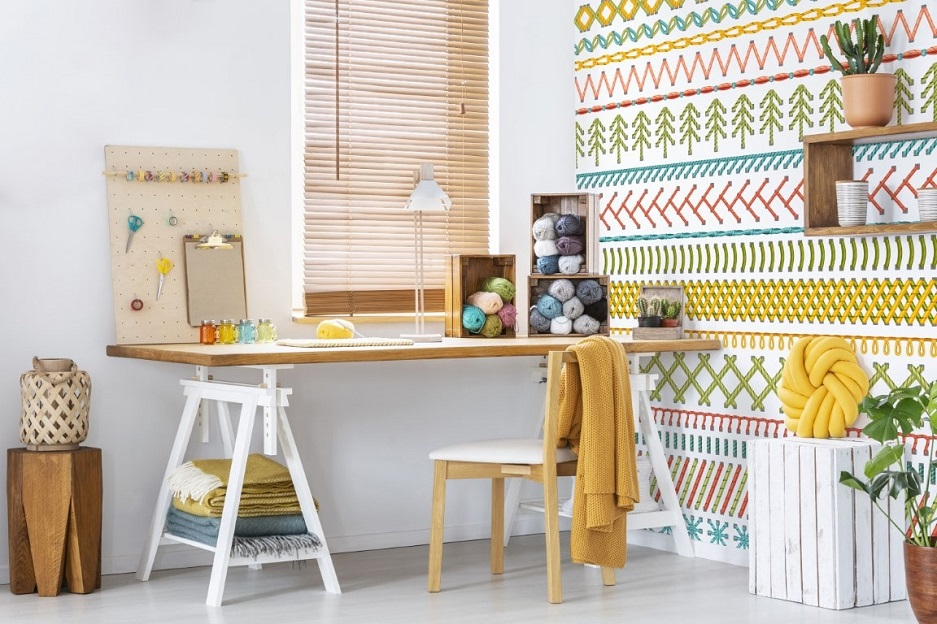 jak urządzić małe biuro w domu