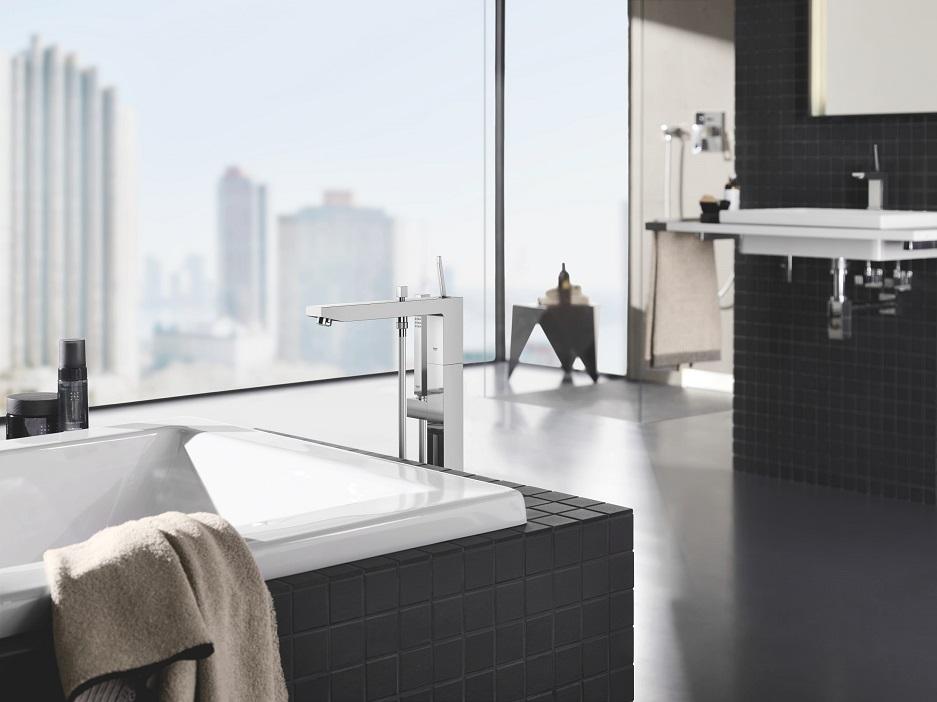 wanna w nowoczesnej łazience