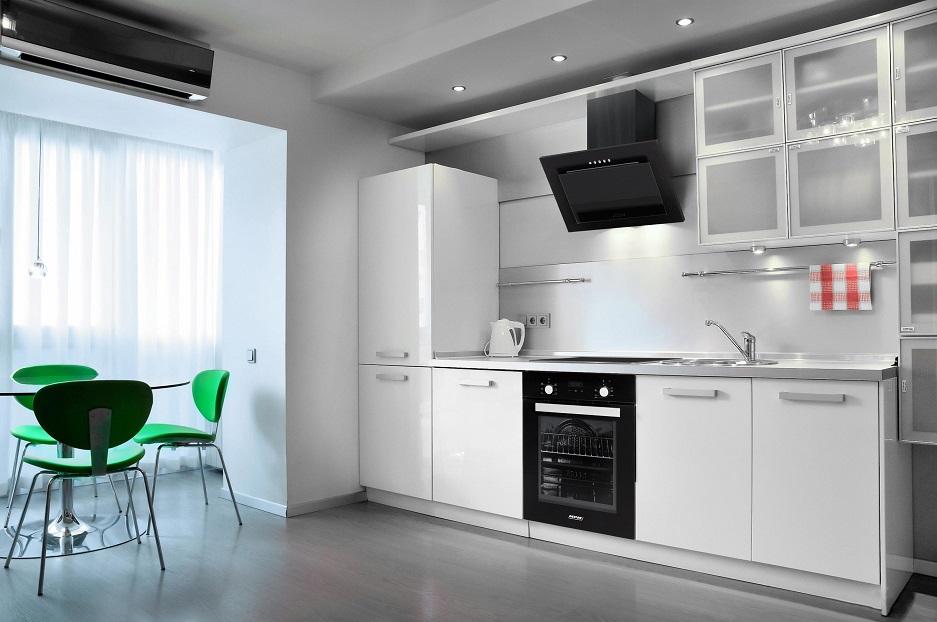 agd do małej kuchni w bieli
