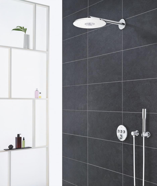 GROHE SmartControl do ciemnej łazienki