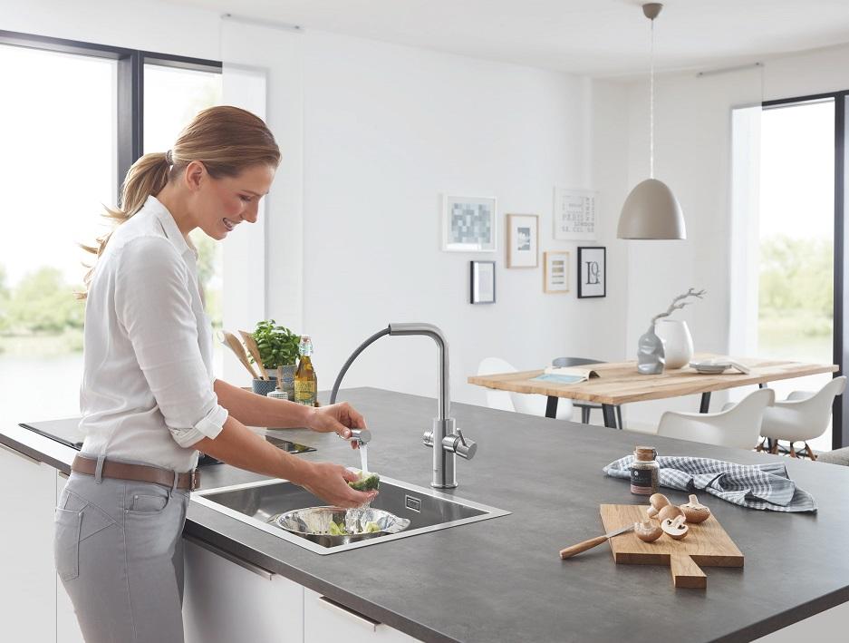 systemy kuchenne do łatwiejszego zmywania