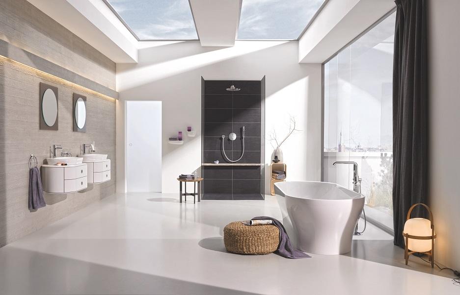 pokój kąpielowy w domu