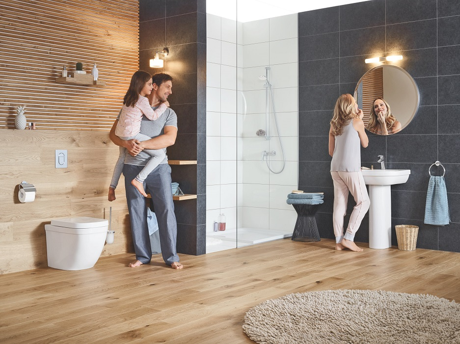 łazienka dla całej rodziny