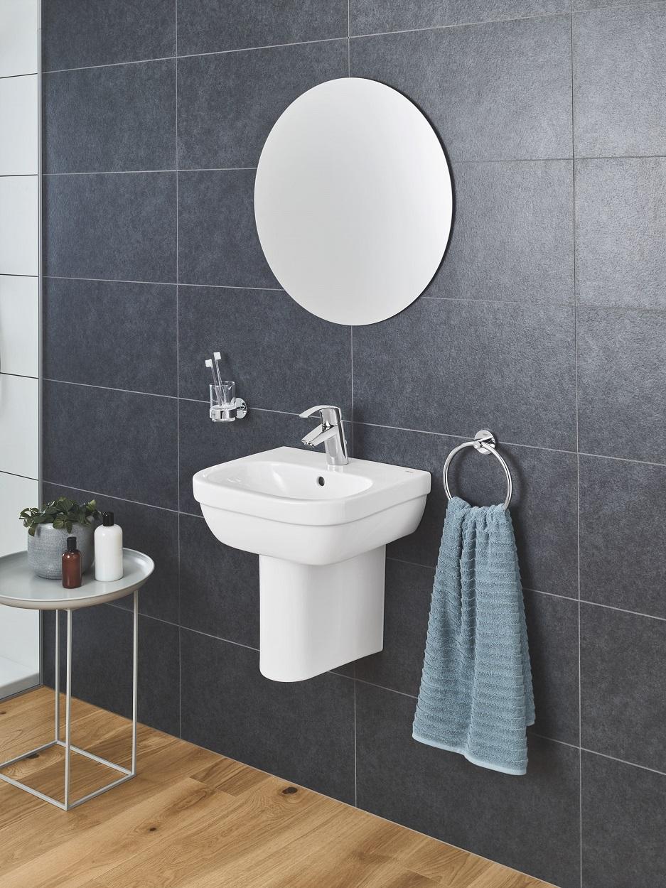 łazienka w stylu skandynawskim - drewno i naturalne materiały