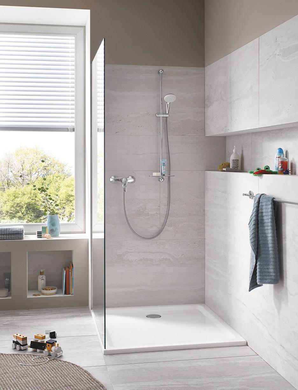 bezpieczeństwo dziecka a kabina prysznicowa