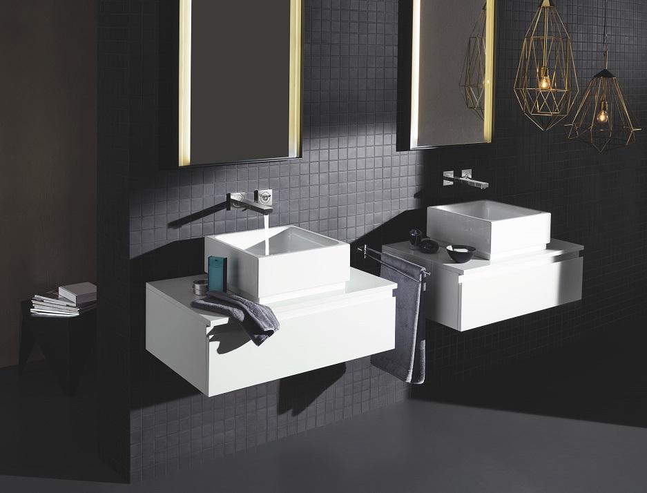łazienka w stylu loftowym - surowe kształty stylu industrialnego