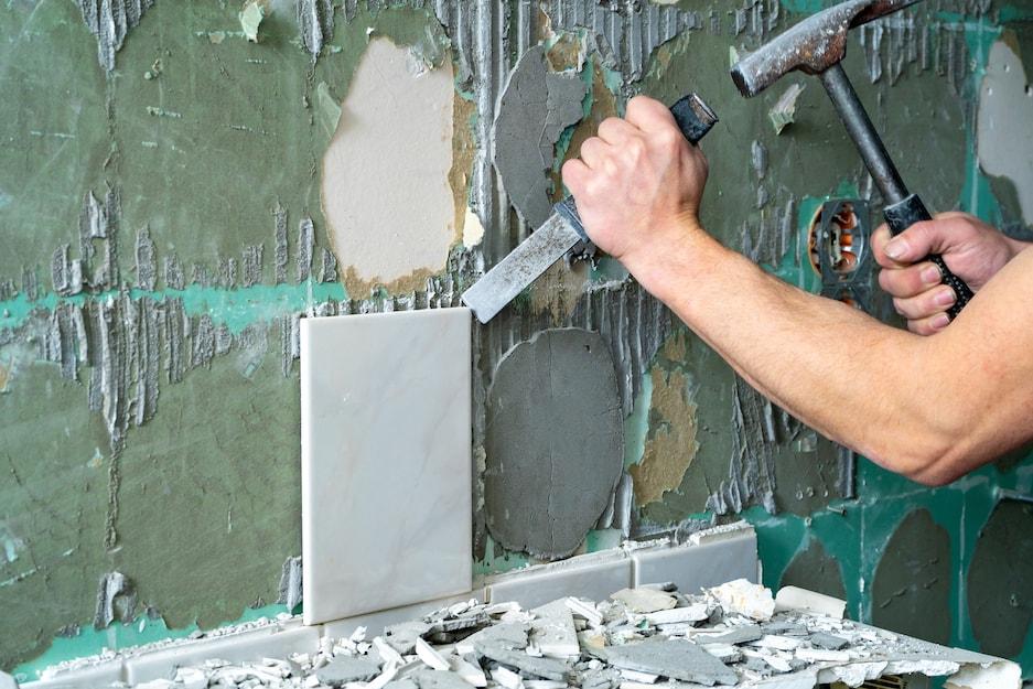 remont łazienki i kucie ścian