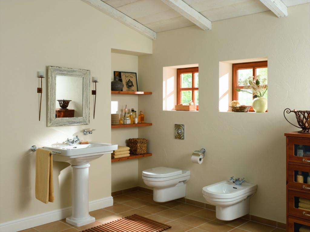 bidet w łazience
