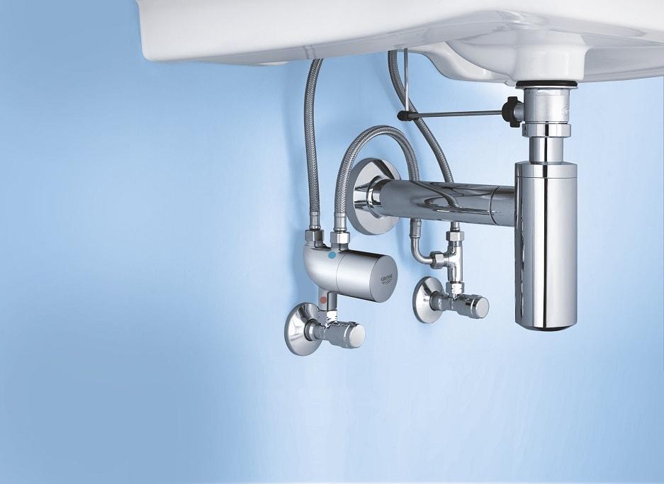 Termostat podumywalkowy Grohe dla łazienek publicznych