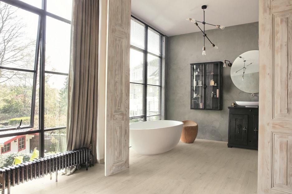 Łazienka z panelami