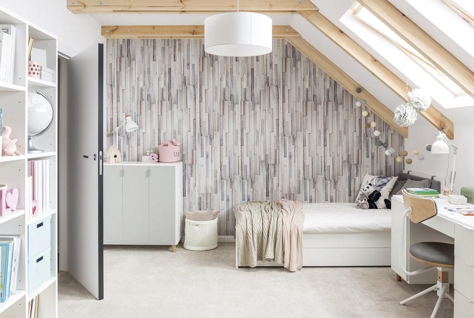 Styl skandynawski - panele na ściany do pokoju dziecka