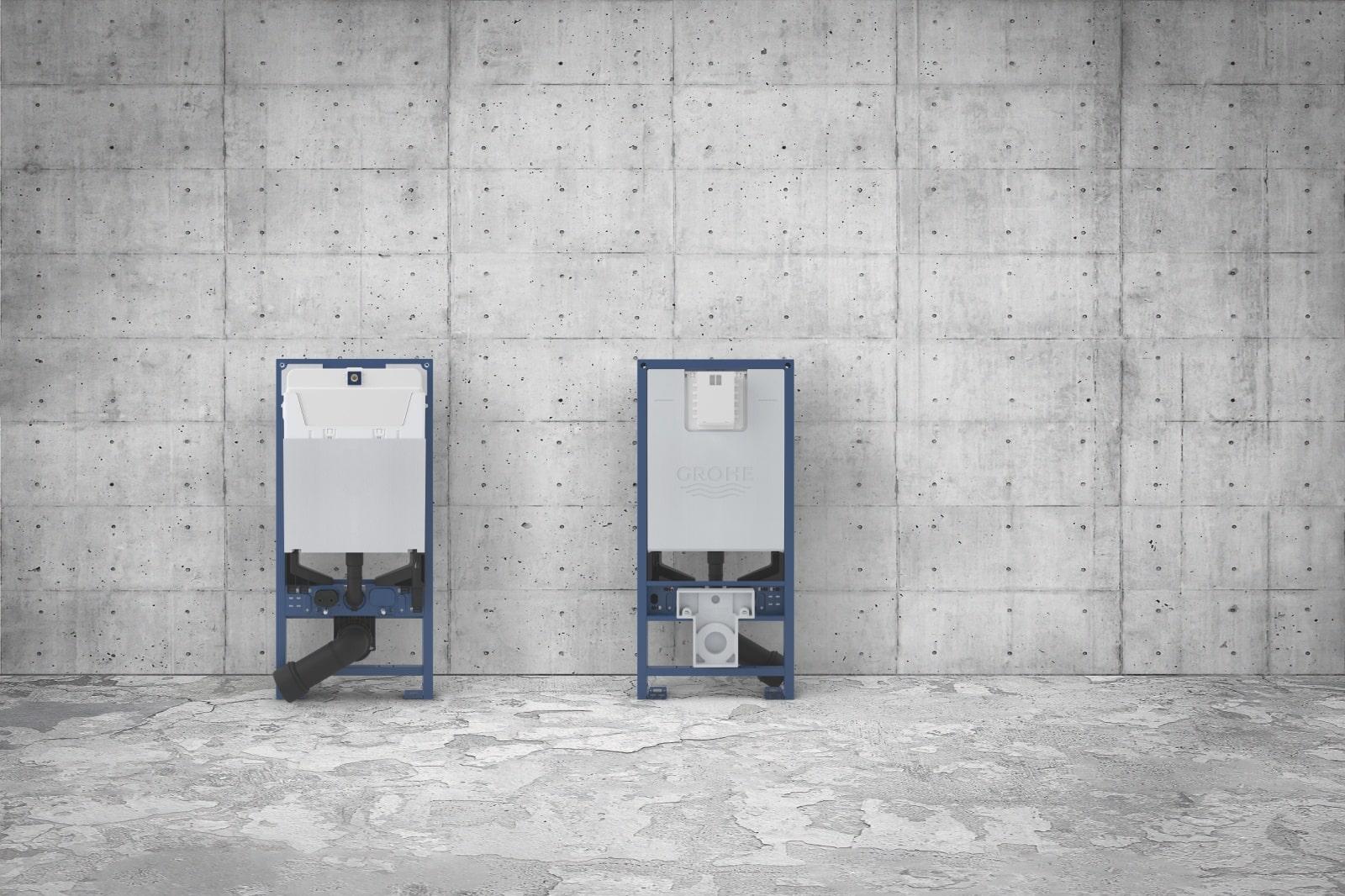 Stelaże do montażu toalet