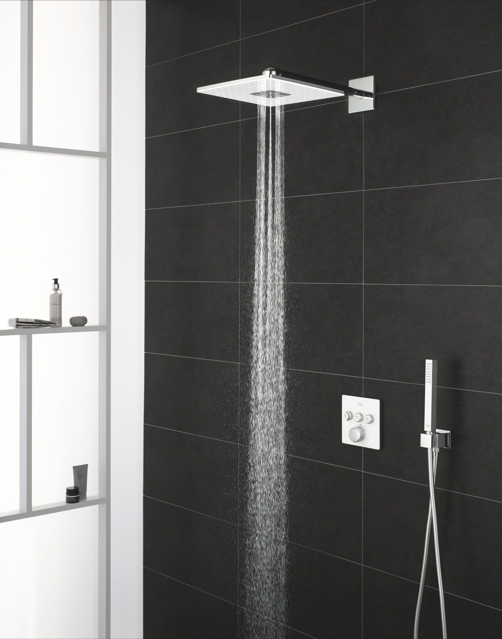 Podtynkowy system prysznicowy GROHE