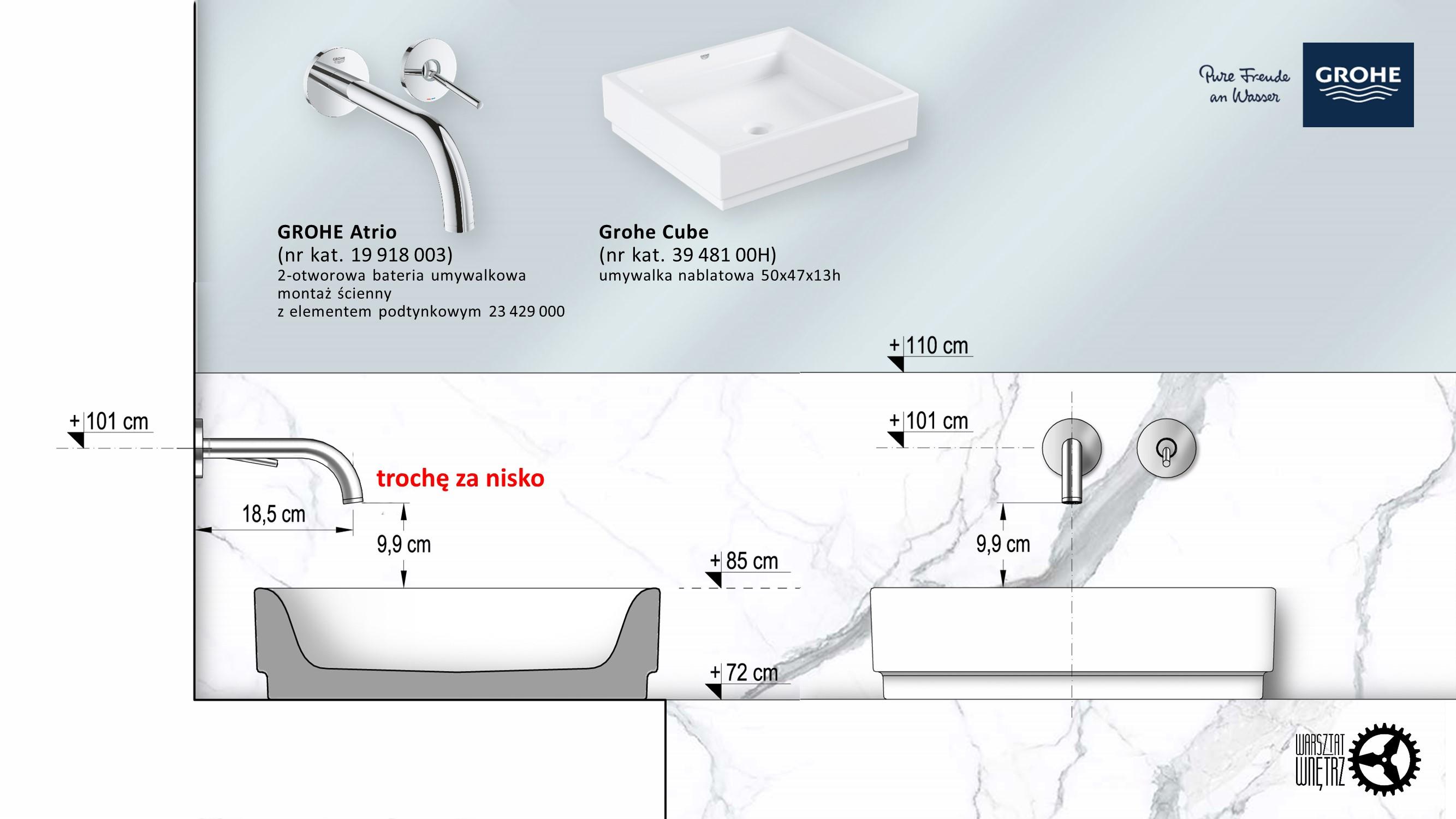 Jak dobrać baterię do umywalki?