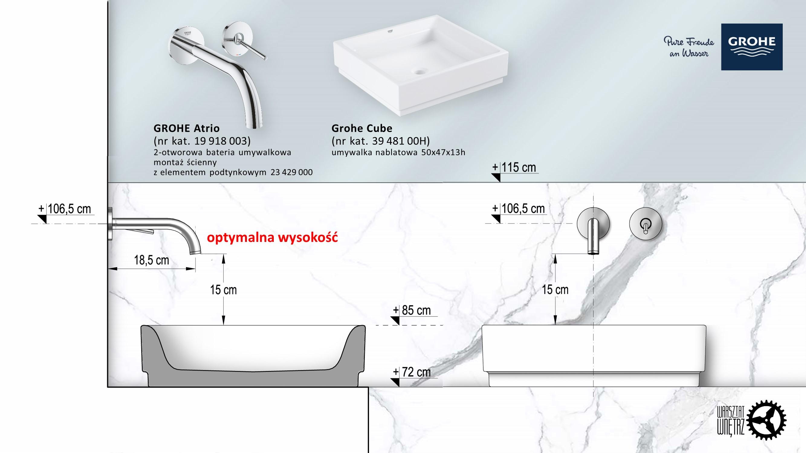Jak dobrać baterię do umywalki