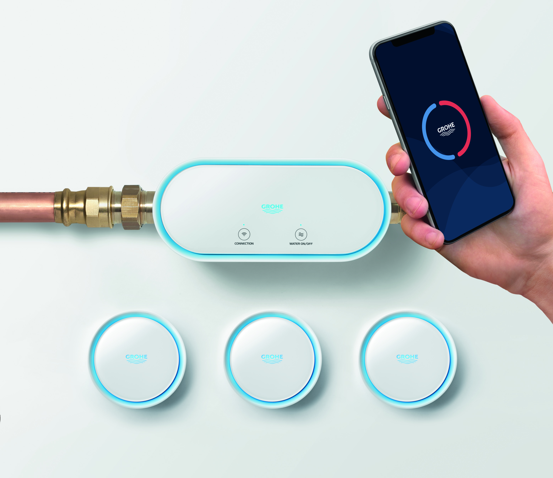 smart urządzenia do pomiaru zużycia wody