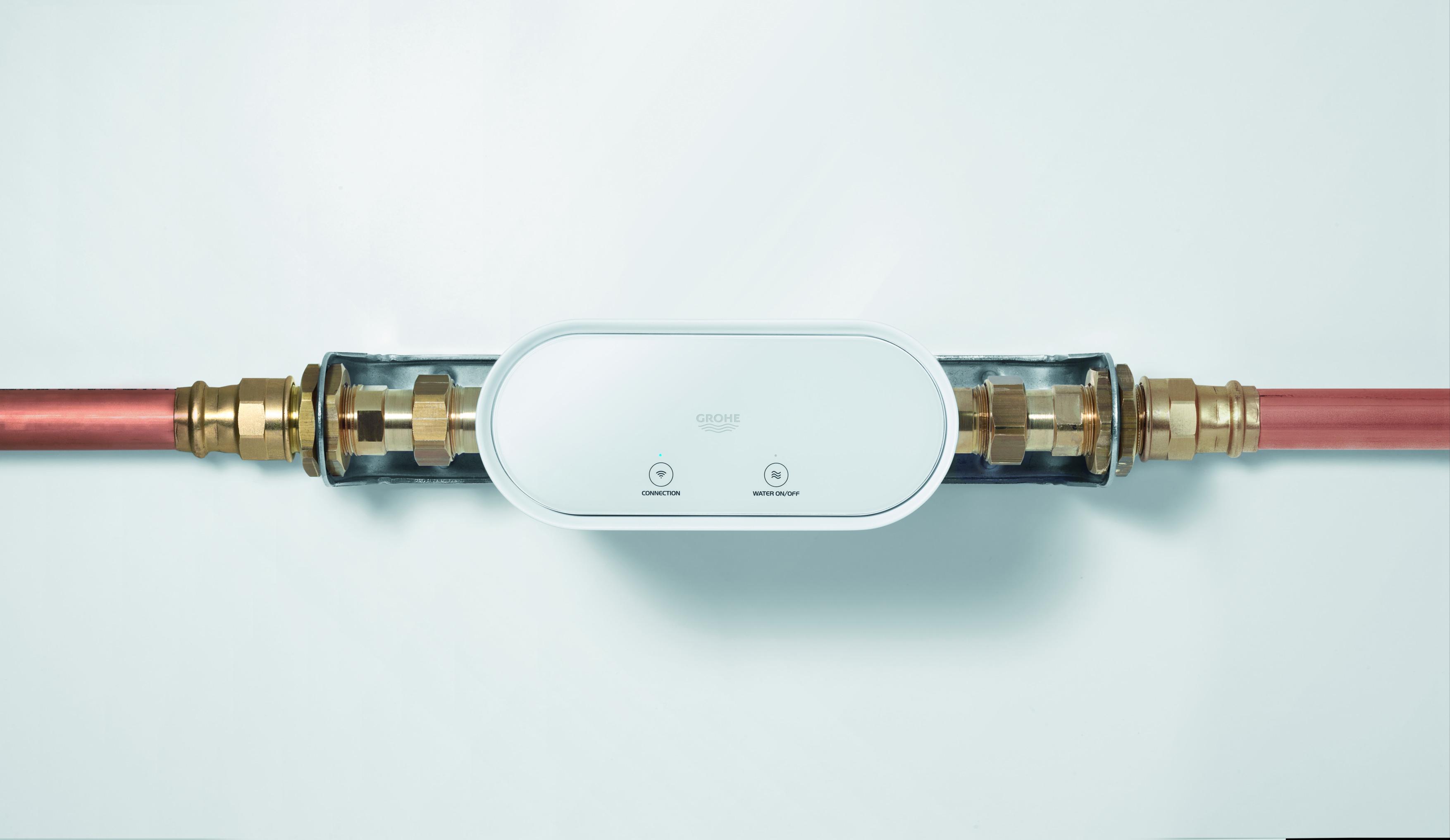 urządzenia do pomiaru zużycia wody Grohe Smart Guard