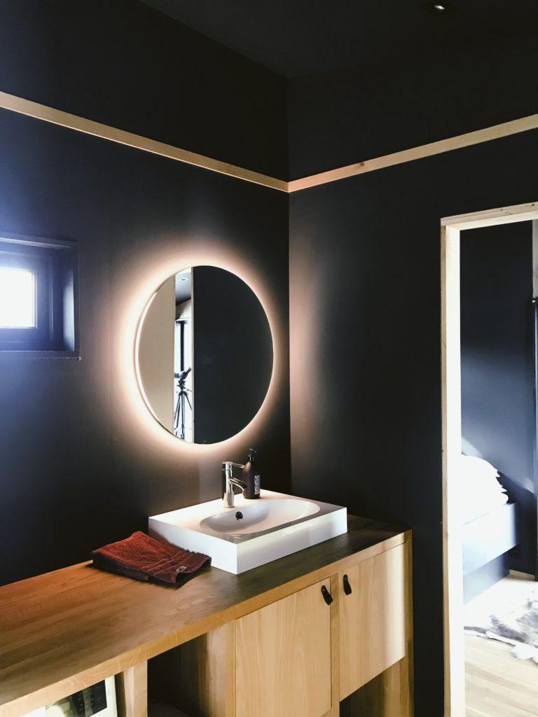 łazienka ciemna