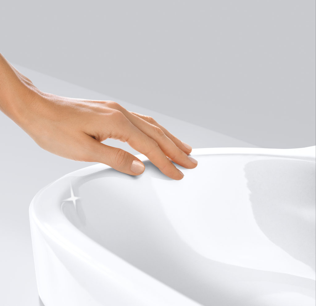 toaleta z powłoką PureGuard