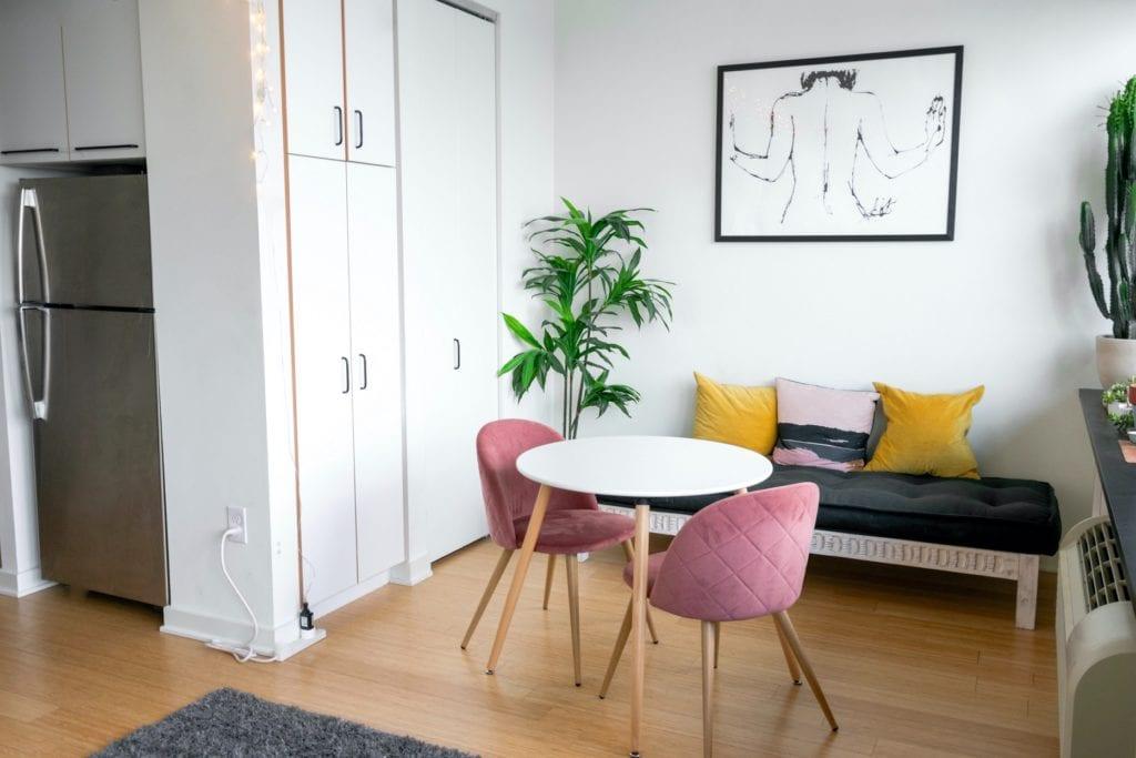 porządek w małym mieszkaniu
