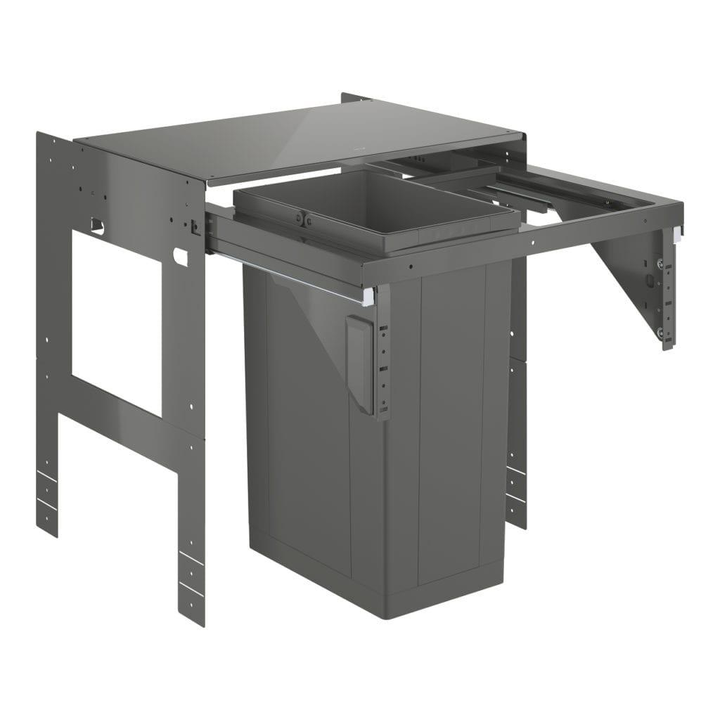 Wysuwany system sortowania odpadów GROHE