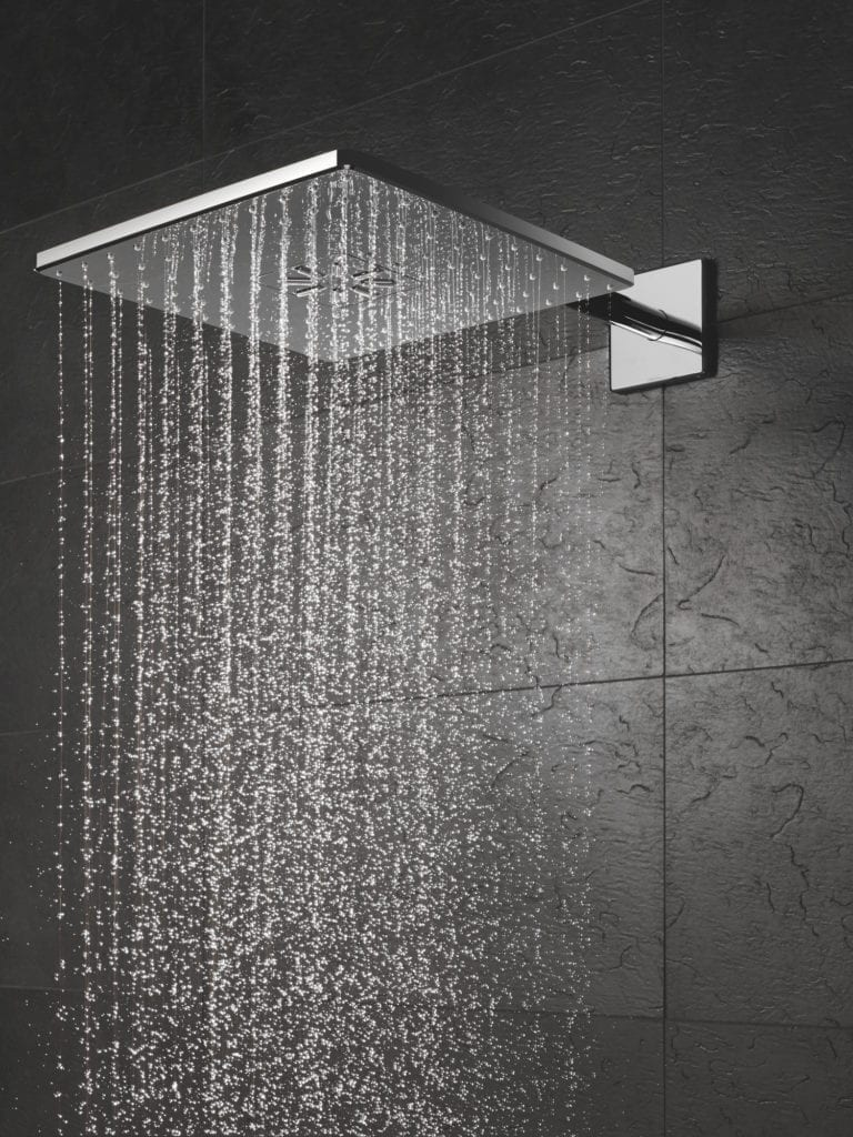 kwadratowa deszczownica GROHE