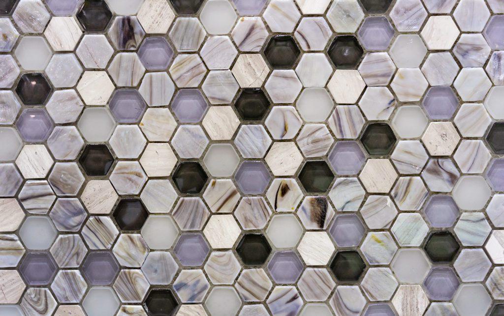 mozaika z płytek łazienkowych