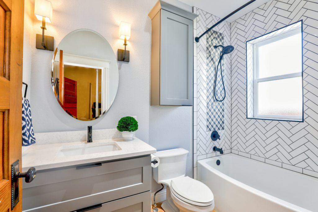 trendy w płytkach łazienkowych
